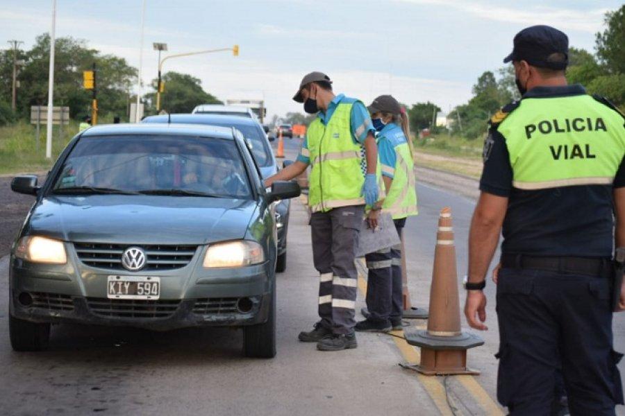 Exitoso operativo de seguridad vial en rutas de la Provincia