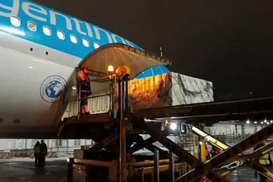 Hoy sale el avión de Aerolíneas a China para traer 1 millón de dosis de la vacuna Sinopharm