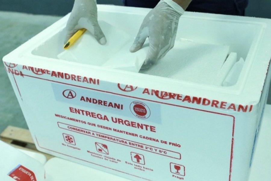 Corrientes: El jueves inicia la vacunación para mayores de 65 años en el Interior