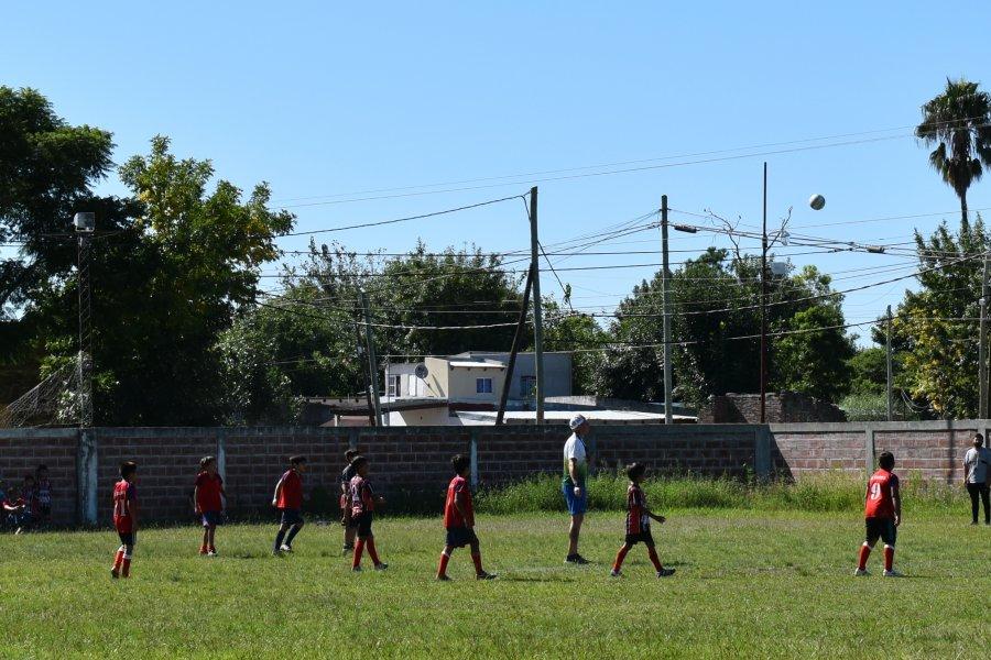 Curuzú Cuatiá: Cierre de los encuentros de fútbol infantil