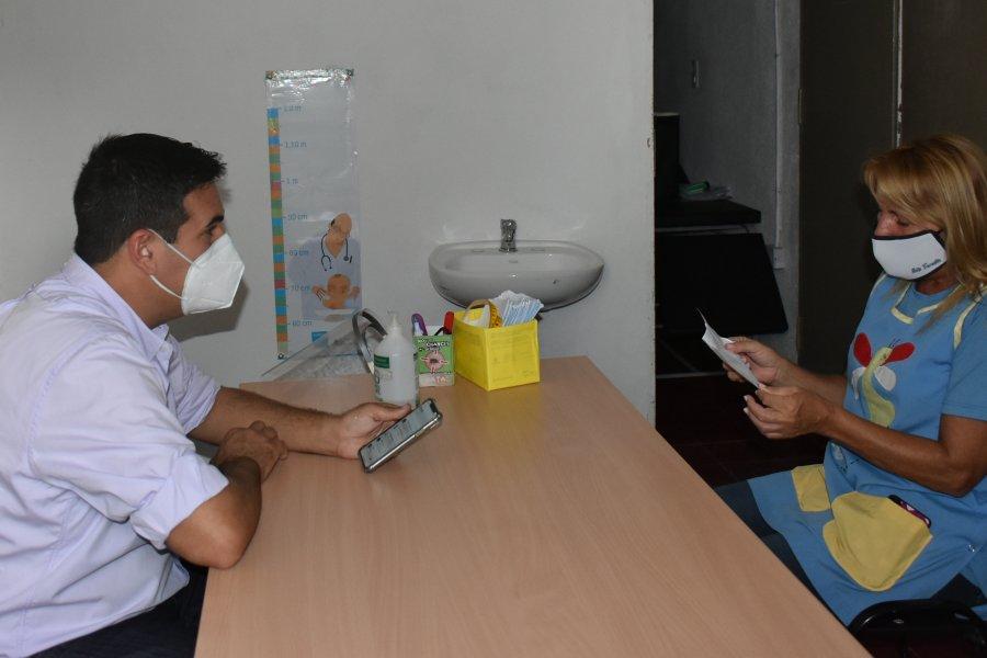 El intendente José Irigoyen atendió en el Centro Integrador Municipal