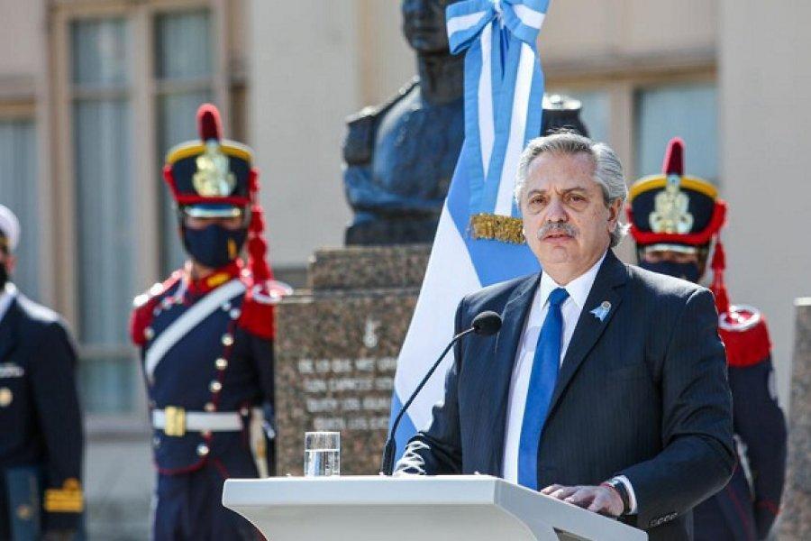 El presidente Alberto Fernández rendirá homenaje al General San Martín en Yapeyú