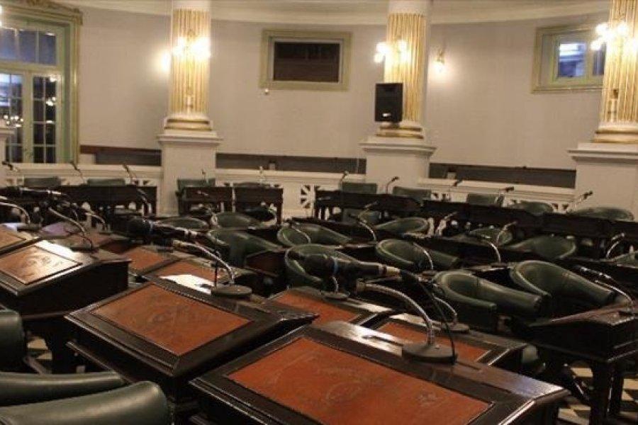 El Senado provincial suspendió la sesión por caso de COVID