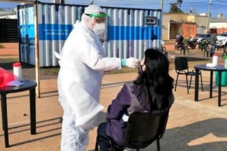 Operativo sanitario en Yapeyú con 60 agentes realizan hispados obligatorios