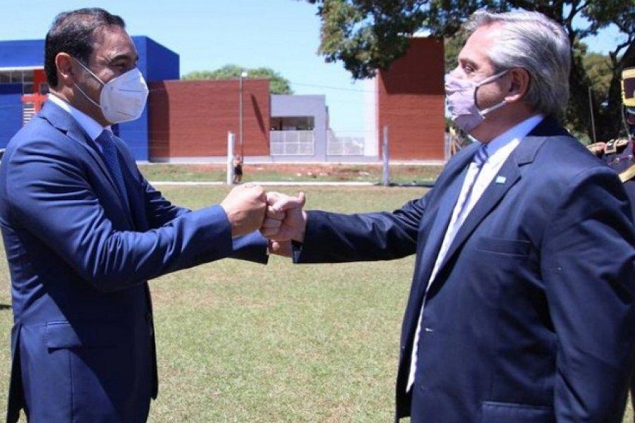 Alberto Fernández realiza su primera visita a Corrientes