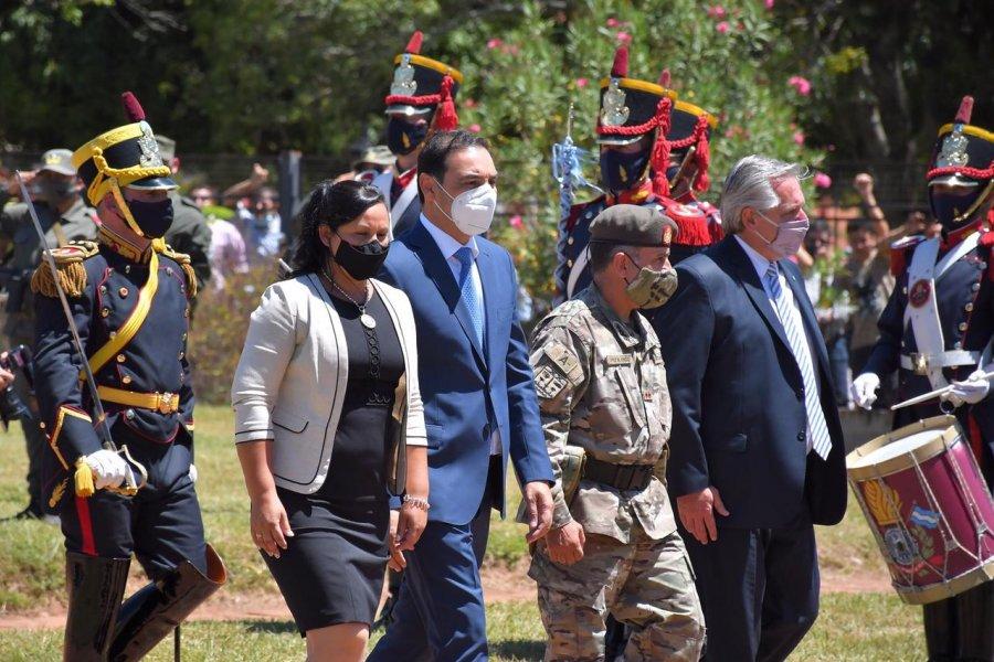El Presidente en Yapeyú recordó a Néstor y habló de las vacunas
