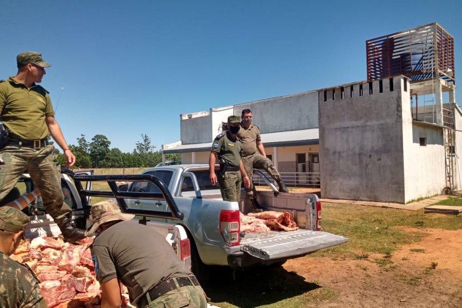 Incautaron más de 600 kilos de carne bovina y embutidos no aptos para el consumo