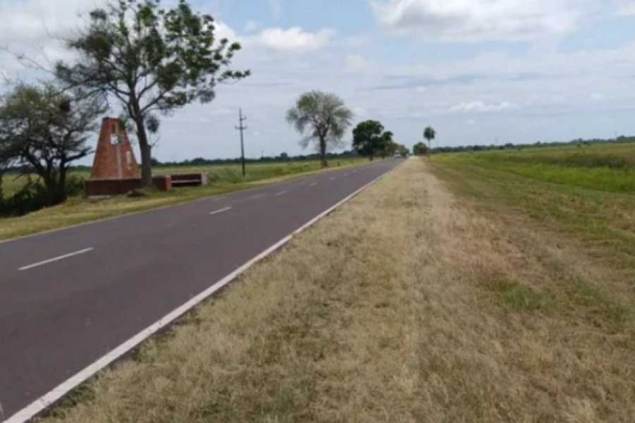 Reacondicionaron la ruta de acceso a Itatí