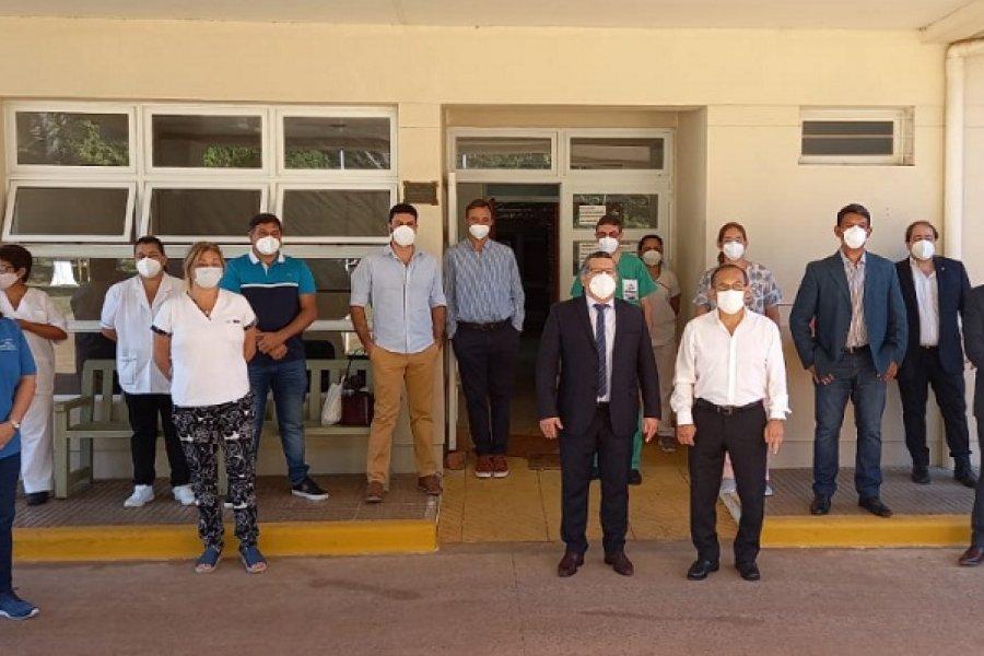 Salud dispuso un refuerzo de servicio en el hospital de Yapeyú