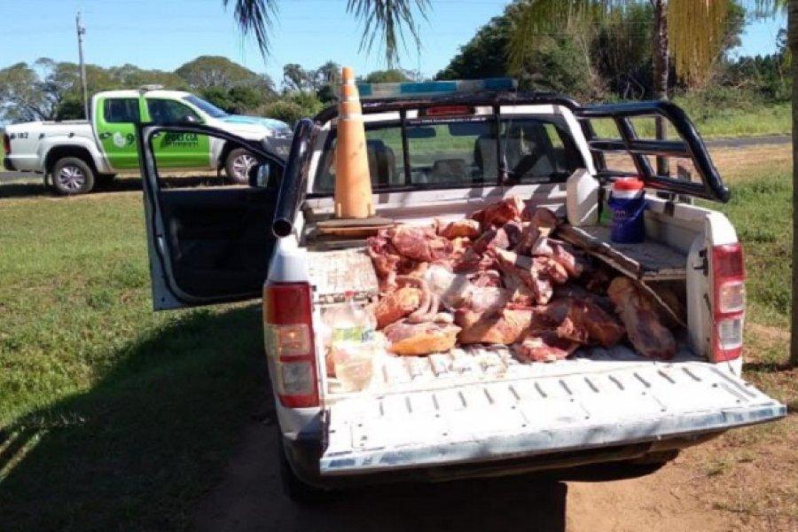 Incautaron 601 de carne bovina y embutidos, no aptos para el consumo