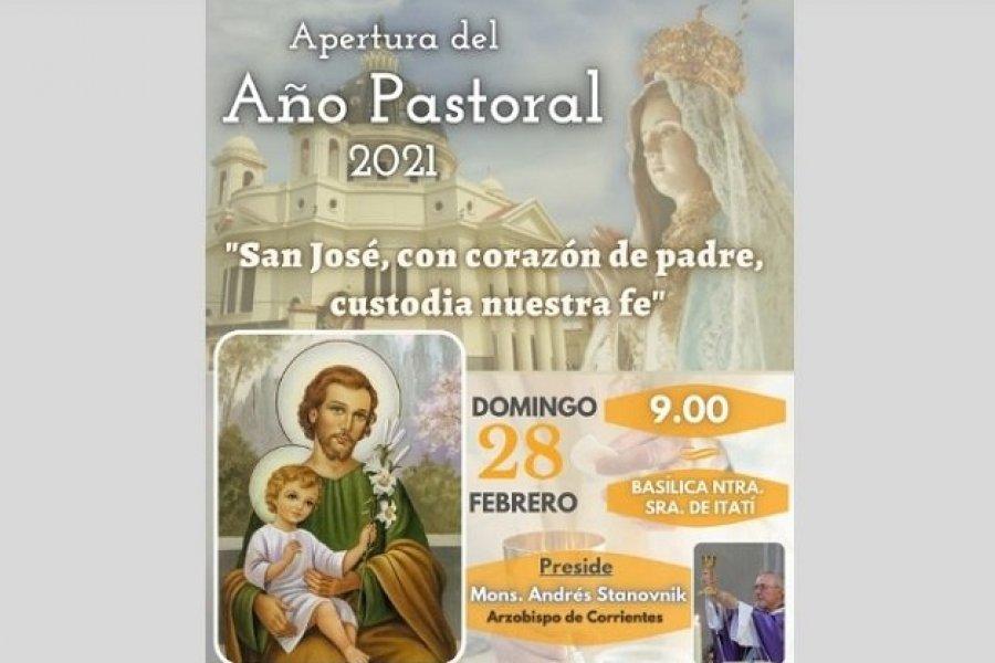 Corrientes confía el nuevo Año Pastoral a San José