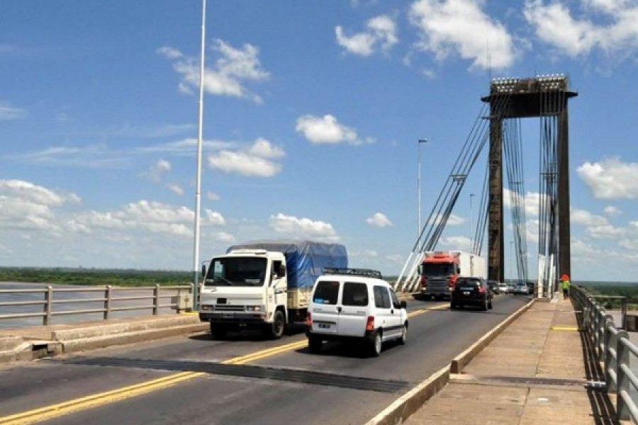 Se normalizó el tránsito sobre el puente General Belgrano