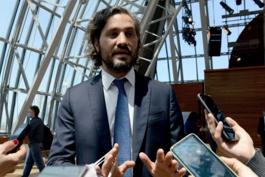 Santiago Cafiero se aisló por ser contacto estrecho de la ministra Carla Vizzotti