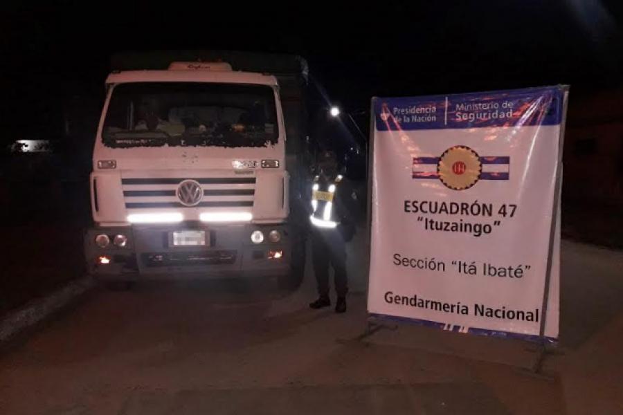 Corrientes: Trasladaba 30 toneladas de soja con documentación apócrifa