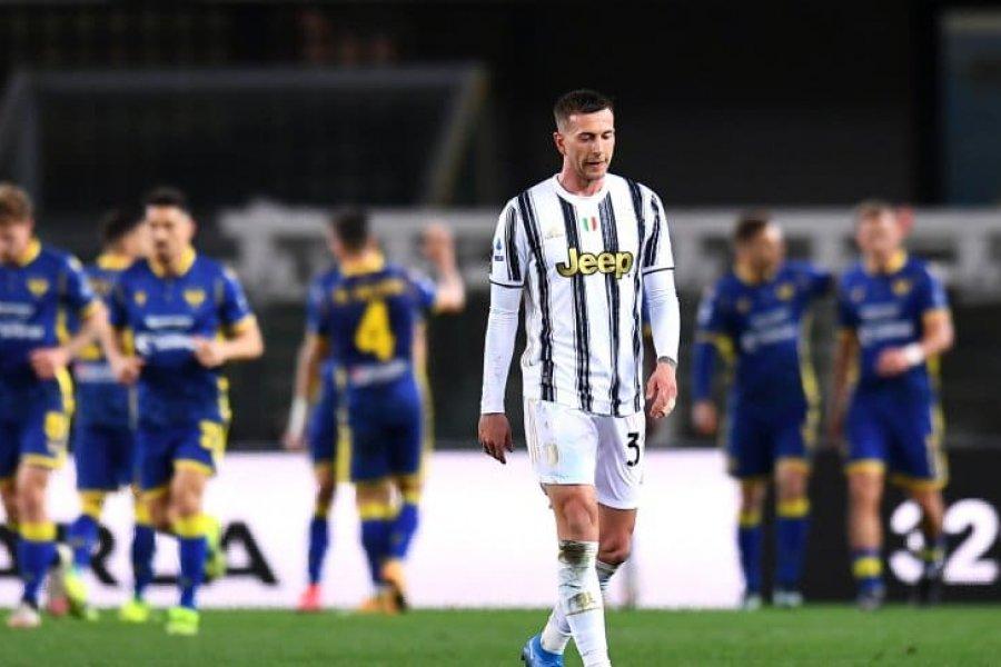 Juventus igualó con Hellas Verona