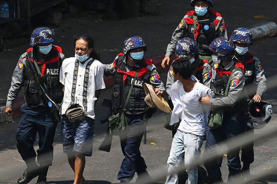 Myanmar: seis muertos en la jornada más sangrienta de la dictadura