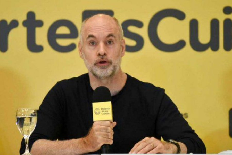 Larreta hará cuarentena tras volver de Brasil e inaugurará sesiones de manera virtual