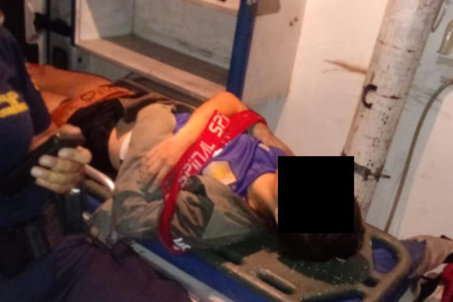 Malloneros rescataron a una joven que se arrojó al Paraná
