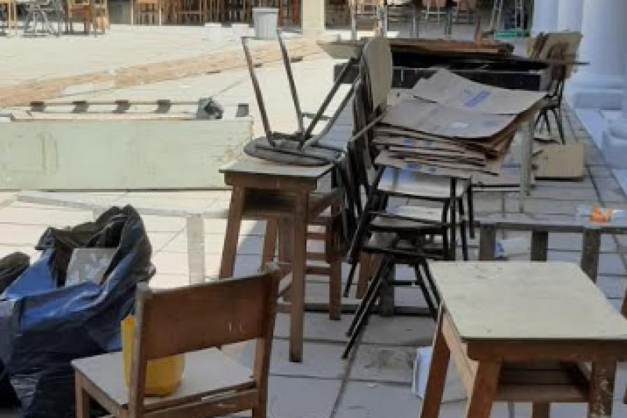 Escuela Sarmiento sin clases por no estar en condiciones edilicias