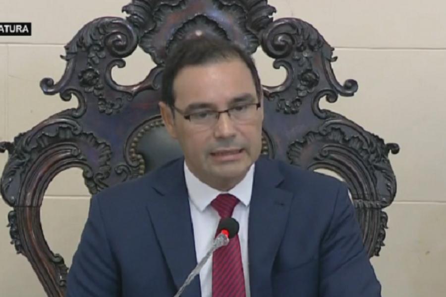 Asamblea Legislativa: Valdés reconoció que la Pandemia ocupó el centro de la escena