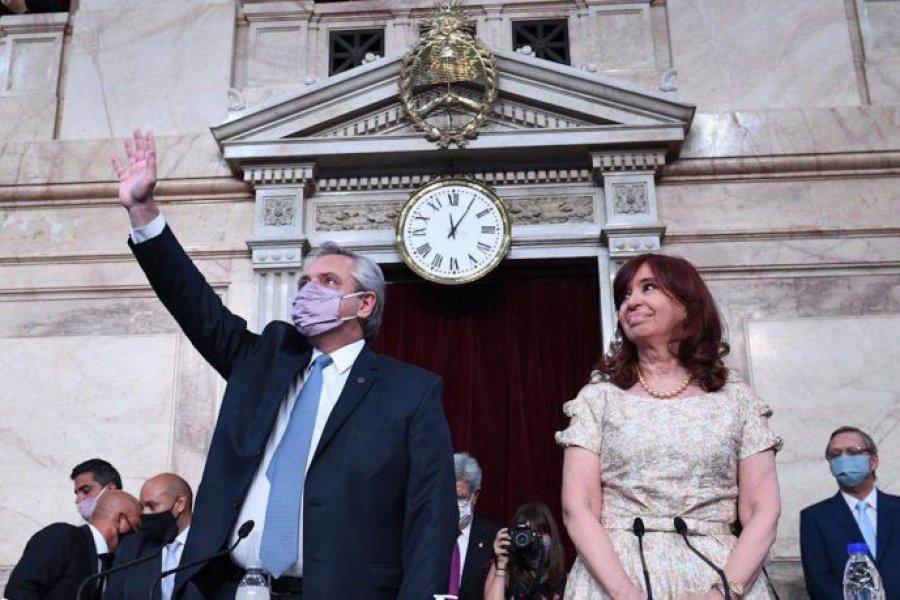 Fernández hizo balance, cruzó a la oposición y lanzó la agenda pospandemia con leyes clave