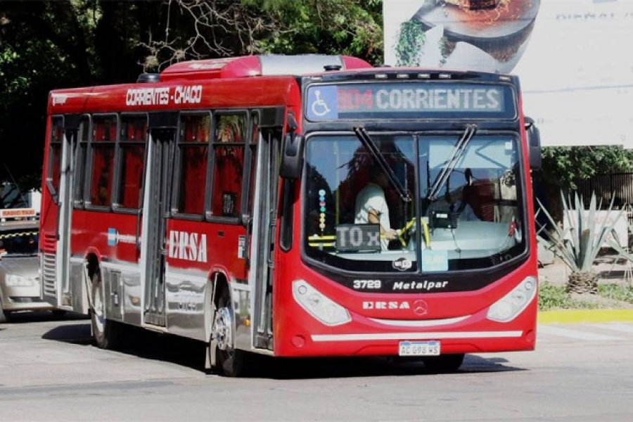 Servicio Chaco - Corrientes podrá circular con 100% de ocupación