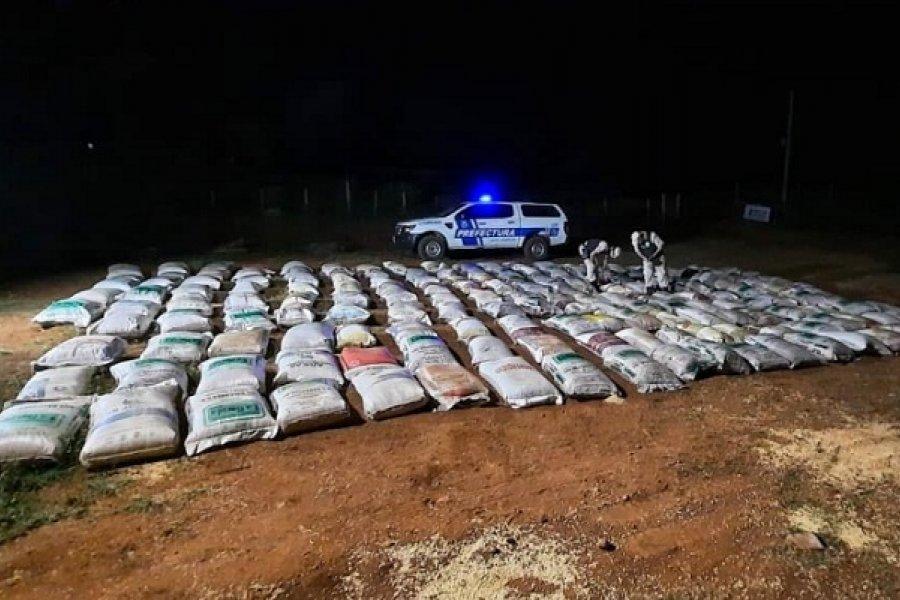 Soja ilegal: Prefectura incautó más de 11 toneladas en Misiones
