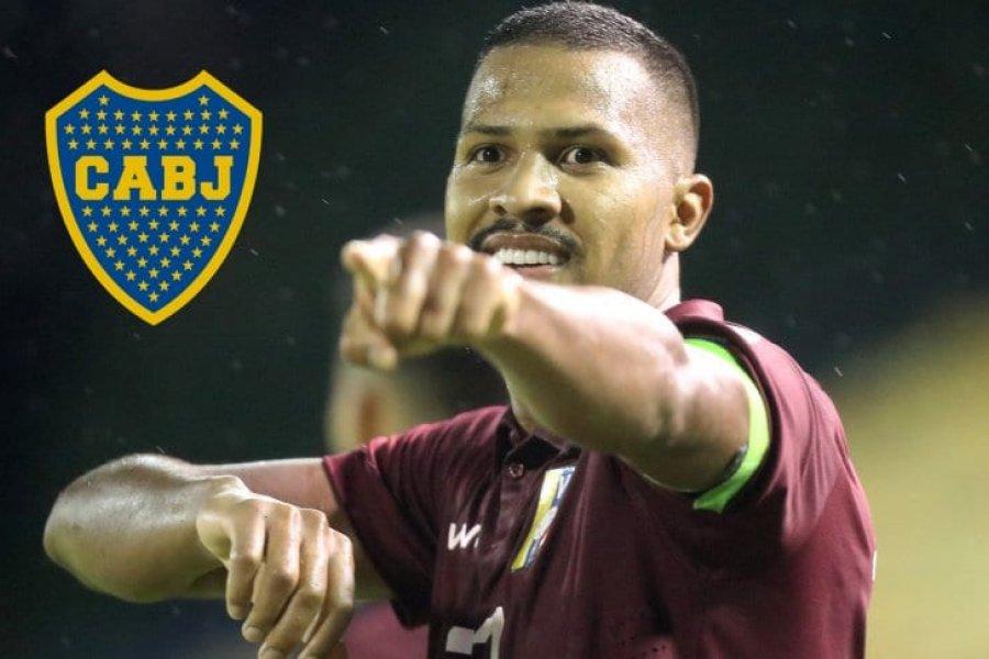"""Salomón Rondón: """"Mi deseo de jugar en Boca siempre existirá"""""""