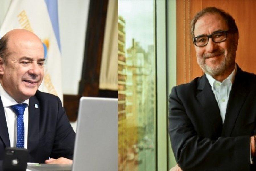 Canteros construye un nexo con la Embajada Argentina en Estados Unidos