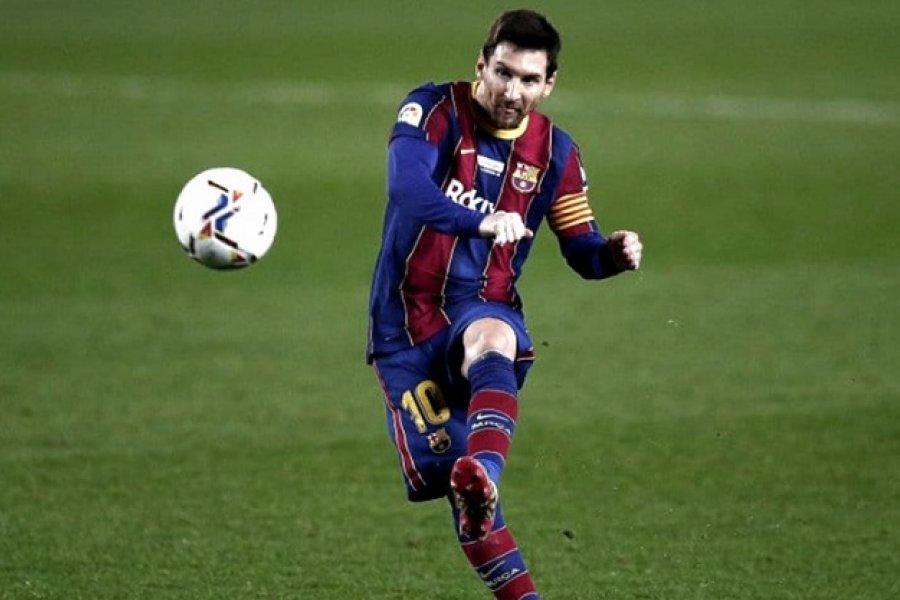 Con Messi, Barcelona busca revertir la serie y llegar a la final ante Sevilla