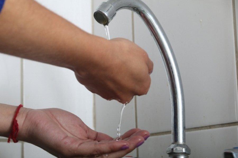 Podría registrase baja presión de agua potable en zona céntrica