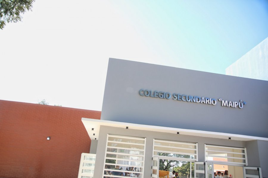 Inauguraron el nuevo edificio de la Escuela Secundaria de Yapeyú
