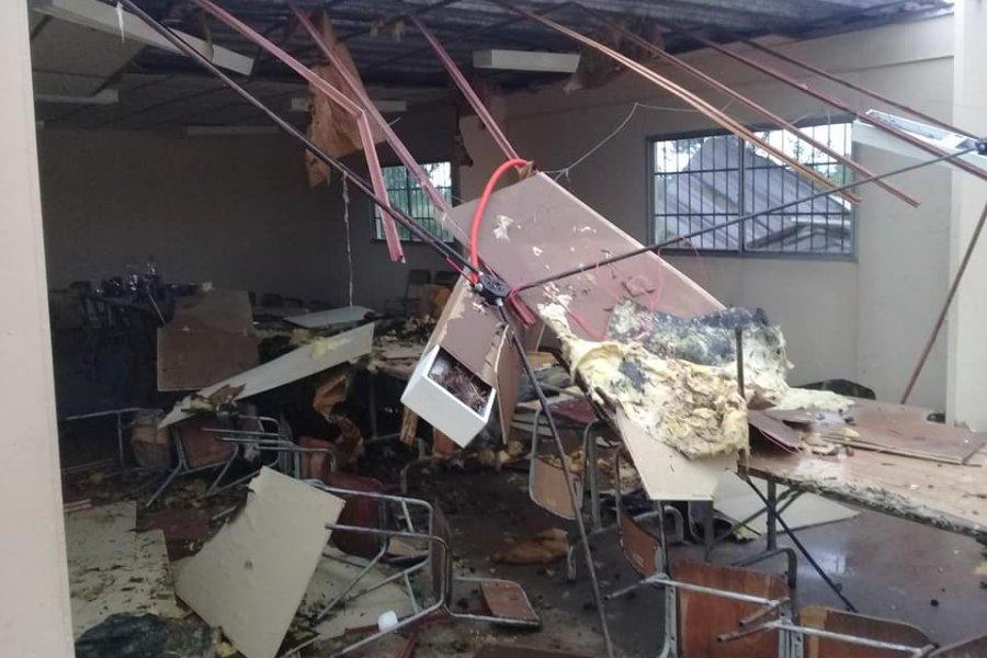 IMÁGENES| Graves destrozos causó un temporal en Colonia Pando