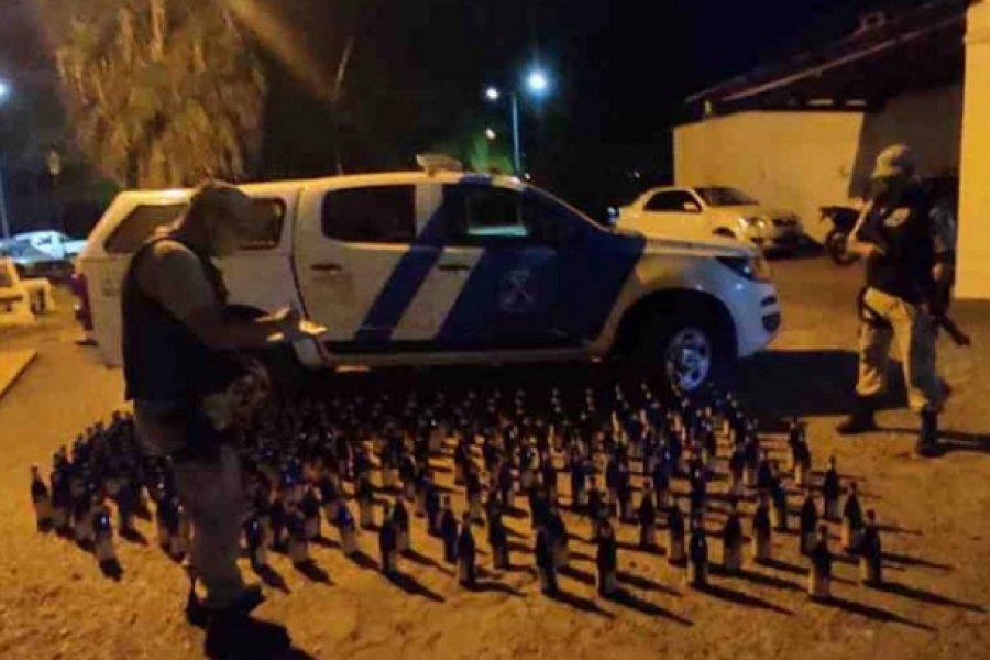 Secuestraron 240 botellas de fernet