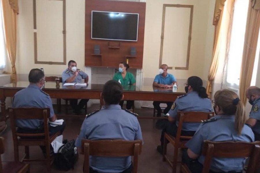 Coordinaron la campaña de vacunación para la Policía de Corrientes