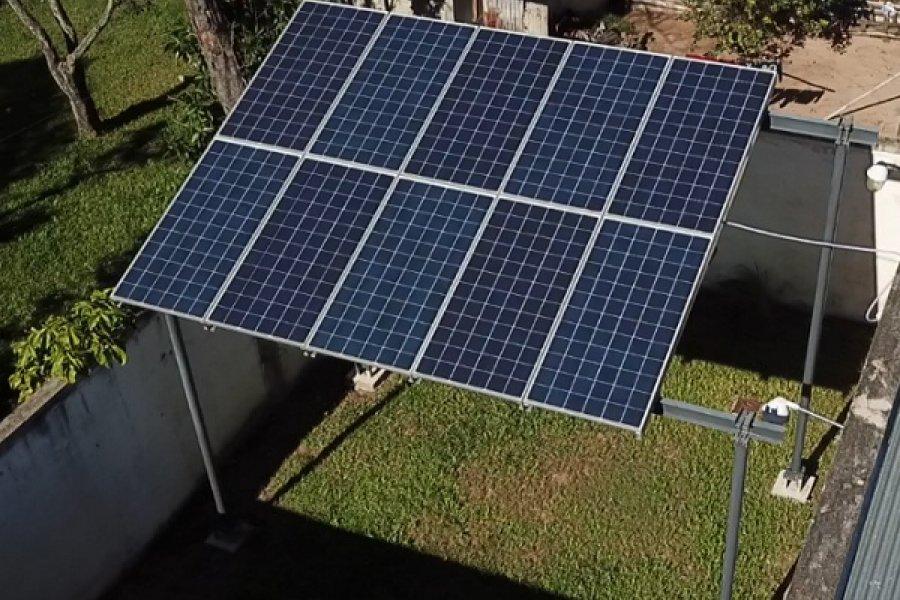 Juzgados de Paz: Continúan los proyectos de generación de energía fotovoltaica
