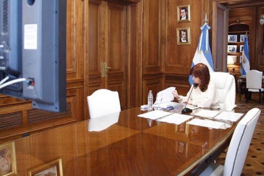 Cristina aludió a un sistema podrido y perverso y culpó al Poder Judicial