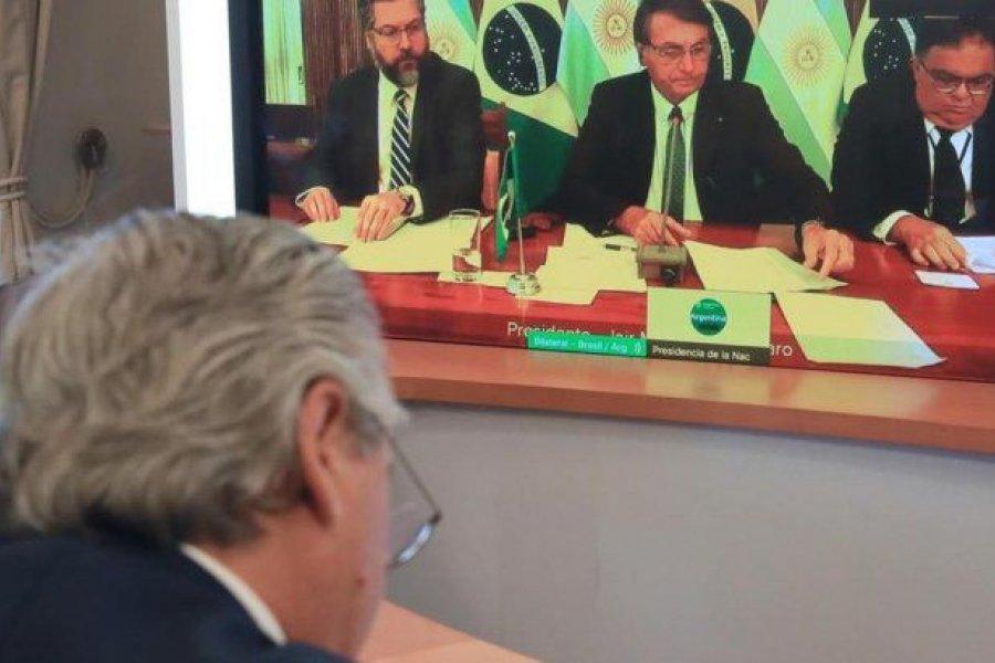 Bolsonaro ratificó que el 26 de marzo viajará a la Argentina para reunirse con Fernández
