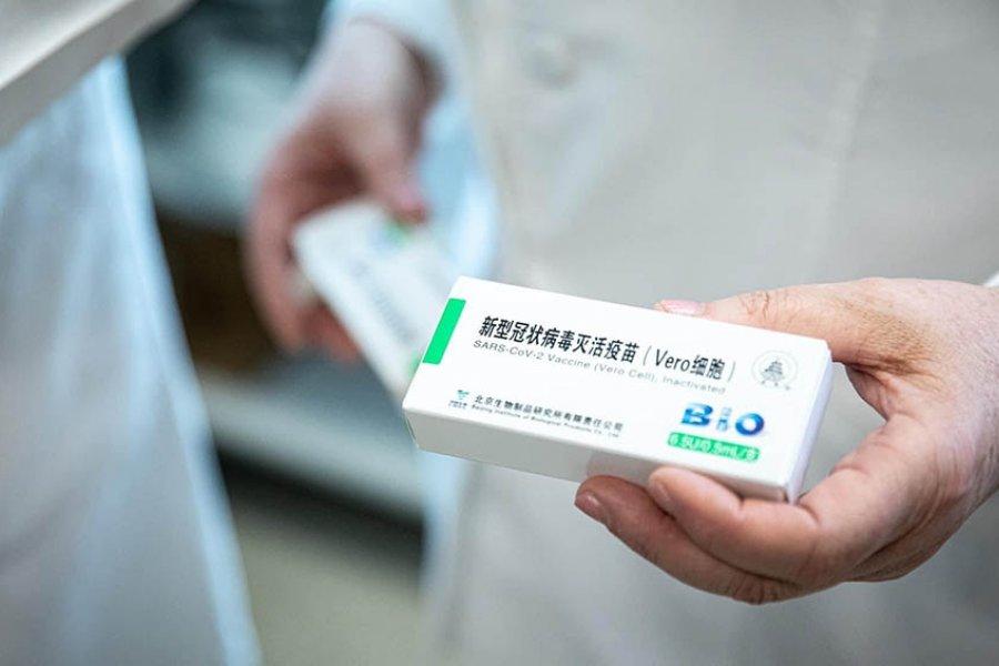 Corrientes recibirá 9.900 dosis más de la vacuna Sinopharm