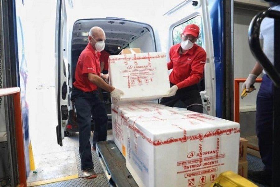 Llegaron más de 9 mil dosis de vacuna Sinopharm a Corrientes
