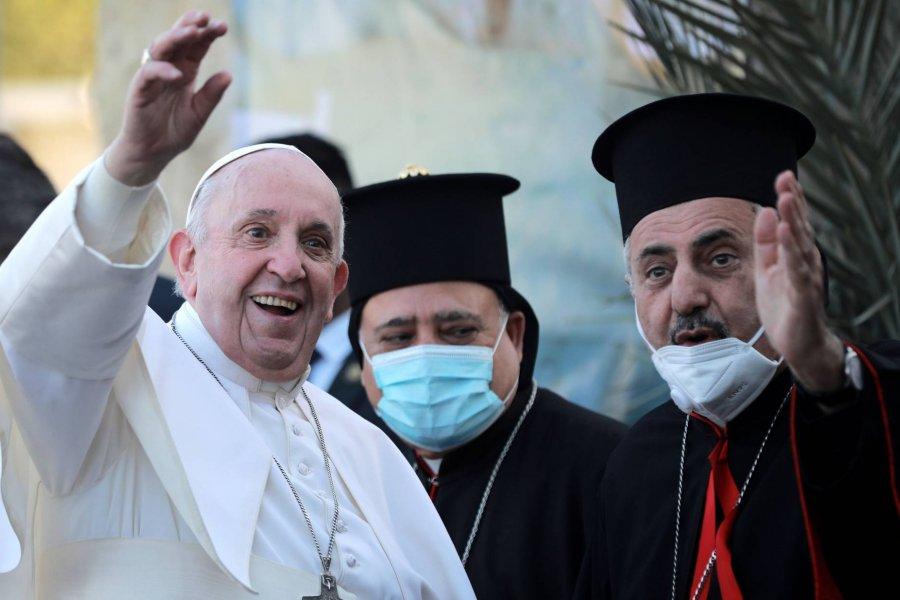 El Irak que visita Francisco