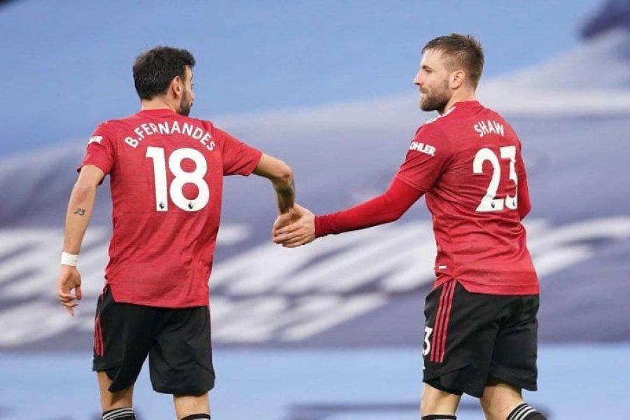 Manchester United sorprendió al City y le quitó un importante invicto