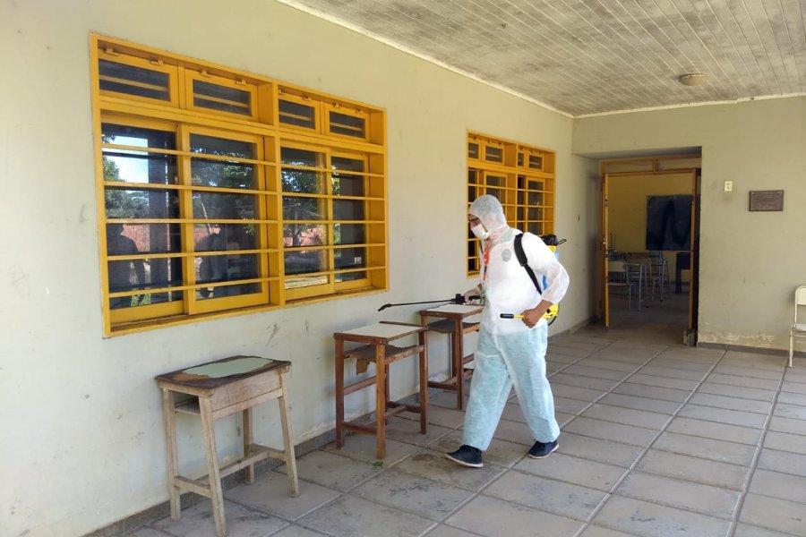 Varios colegios cerrados por casos de COVID-19 en San Miguel