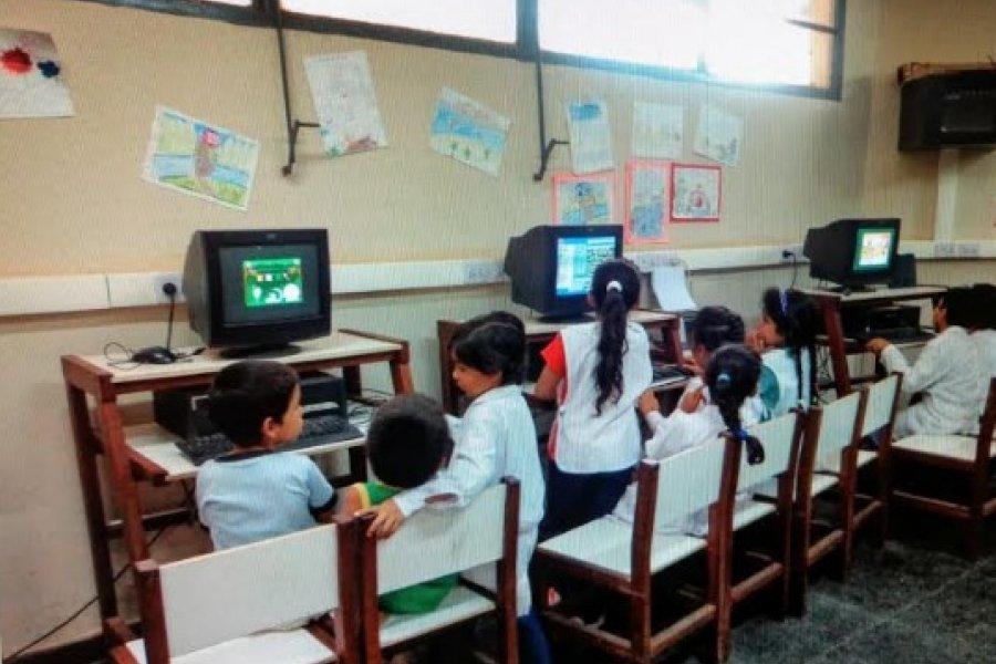 Advierten mal estado de escuela apadrinada por el Gobierno Provincial