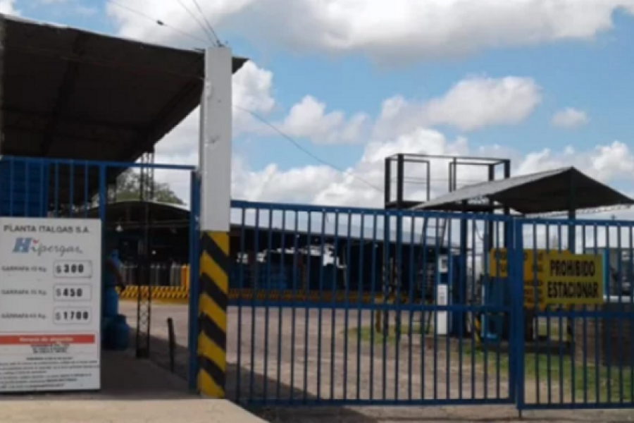 Robaron varias garrafas de una planta distribuidora en Corrientes