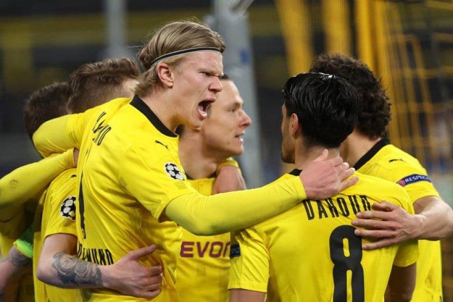 Borussia Dortmund empató con Sevilla y está en cuartos de final