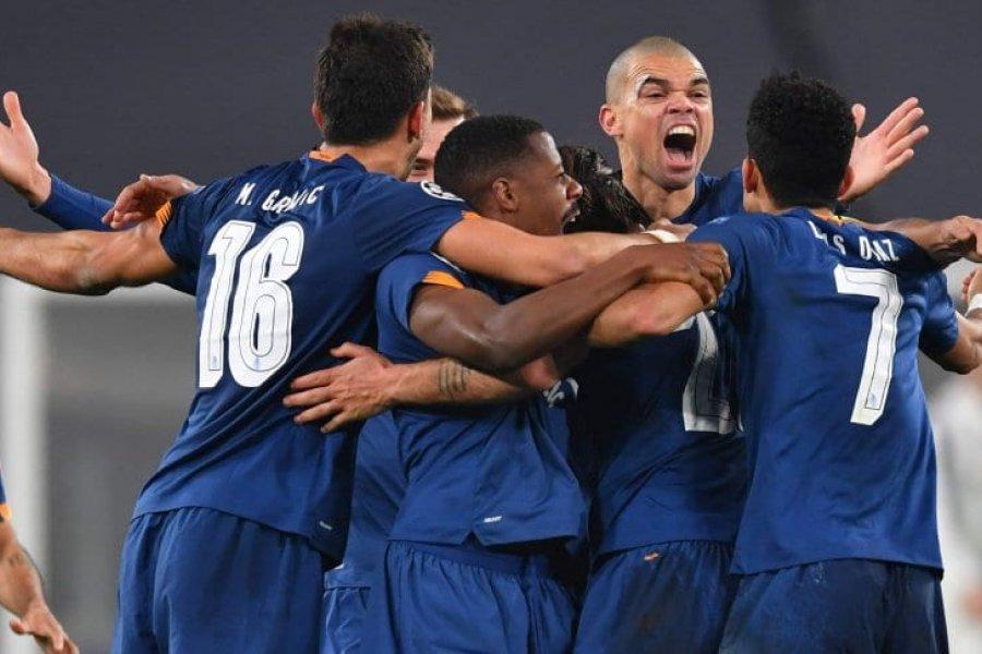 Porto eliminó a Juventus y clasificó a cuartos de la Champions League