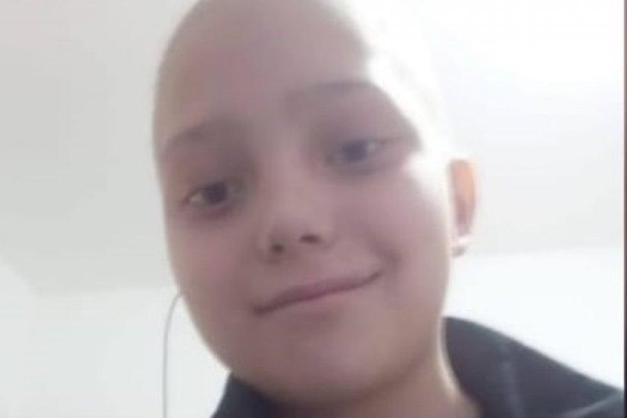 Ofrecen rifa para ayudar a un nene que continúa su lucha contra el cáncer