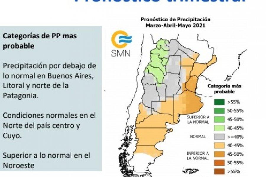 Pronóstico a dos semanas del Servicio Meteorológico