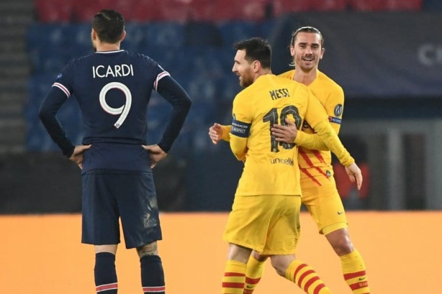Pese al golazo de Messi, Barcelona quedó eliminado ante el PSG